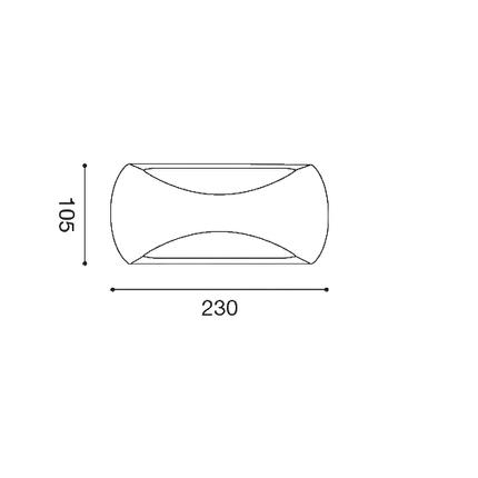 430×430-plafoniera-gpl253-12w-luce-naturale-4000k-gealed-antracite-ip65